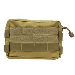 MOLLE Utility Pouch - Multipurpose Compact EDC Bag - Tactica