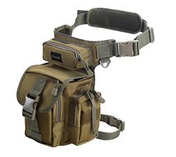 Jueachy Multifunctional Drop Leg Waist Bag, Tactical Militar