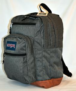 New JanSport Cool Student Laptop Backpack -- Black White Her