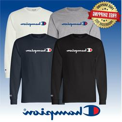 Original Champion Men's Classic Jersey Script Long Sleeve T-