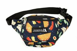 Everest P044KD-Tacos Signature Pattern Waist Pack, Tacos, On