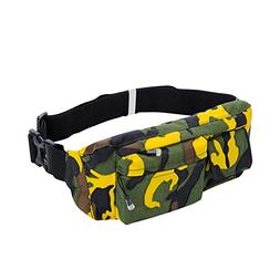 Cibeat Running Belt Outdoor Camouflage Bag Travel Multifunct