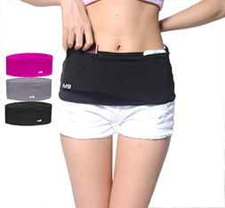 Eazymate Fashion Running Belt - Stylish Travel Money Belt wi