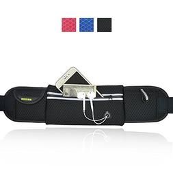 AIKELIDA Running Belt/Runner Waist Pack/Running Gear Bag/Run