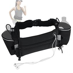 SFS Hydration Running Belt with Water Bottles Pockets Sweatp