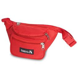 Shape Up, Training Fabric Waist Pack Many Colors!-Red Fitnes