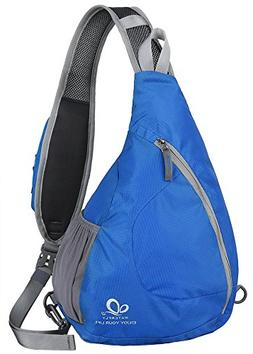 WATERFLY Sling Chest Backpacks Bags Crossbody Shoulder Trian
