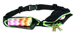 Stretchable, Secure, And Reflective Activity Belt For Runner
