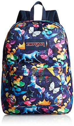 JanSport Superbreak Backpack Rainbow Mania