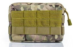 ts-store Tactical Admin Pouch MOLLE Pouches EDC Compact Mult