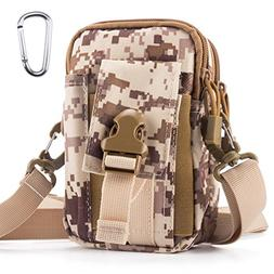 Tactical Molle Pouch Outdoor Sports Belt Waist Pack Bag Mili