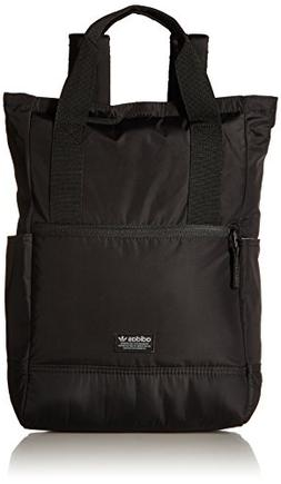 adidas Originals Tote II Backpack, Black, One Size