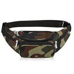 Waist Bag Belt Nylon Multifunctional For Women Men Water Pro